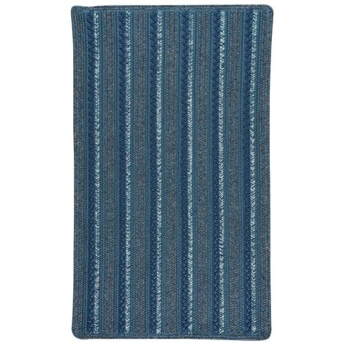 Woodbridge Coastal Blue Braided Rugs
