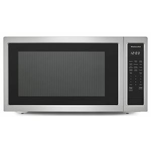 """KitchenAid24"""" Countertop Microwave Oven - 1200 Watt - Stainless Steel"""