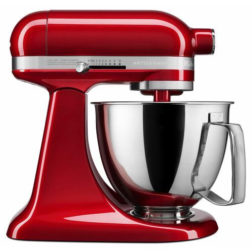 KitchenAid - Artisan® Mini 3.5 Quart Tilt-Head Stand Mixer - Candy Apple Red
