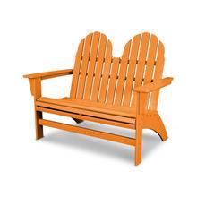 Tangerine Vineyard Adirondack Bench