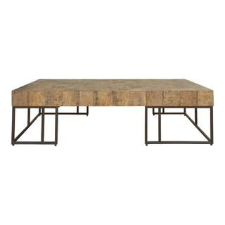 Crosscut Coffee Table