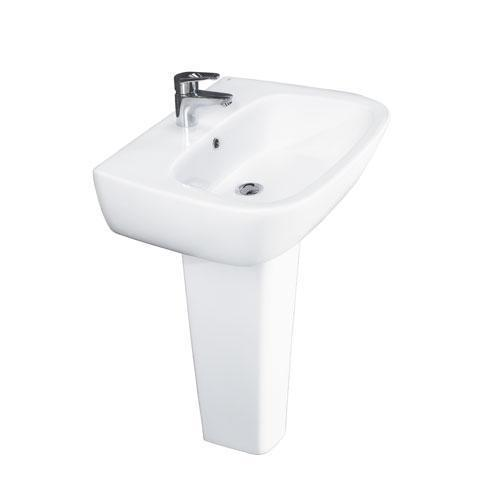 Product Image - Elena 500 Pedestal Lavatory - Single-Hole