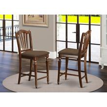 "Chelsea Stools with upholstered seat, 24"" seat height"