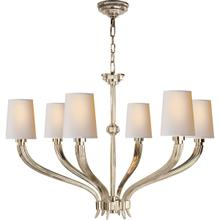 View Product - E. F. Chapman Ruhlmann 6 Light 35 inch Polished Nickel Chandelier Ceiling Light