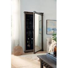 See Details - La Grange Vail Floor Mirror w/Jewelry Storage