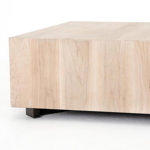 Ashen Walnut Finish Hudson Square Coffee Table
