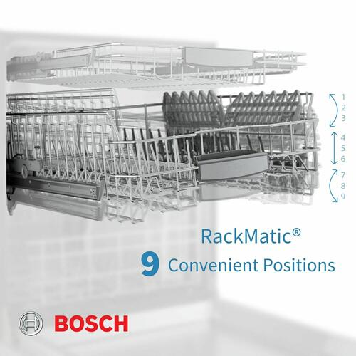 Benchmark® Dishwasher 24'' Stainless steel SHP88PZ55N
