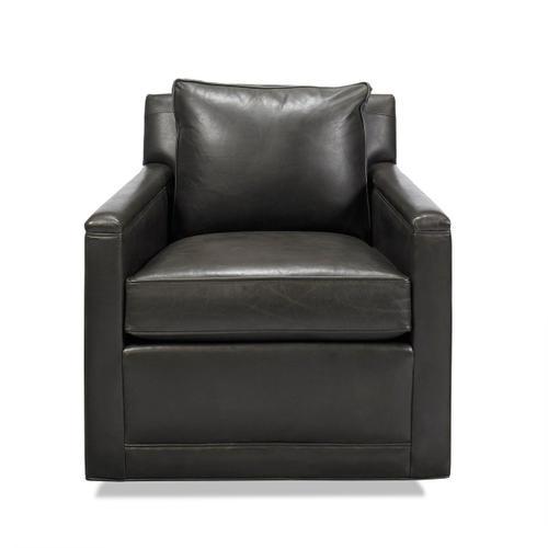 Classic Home - Clark Swivel Accent Chair Espresso