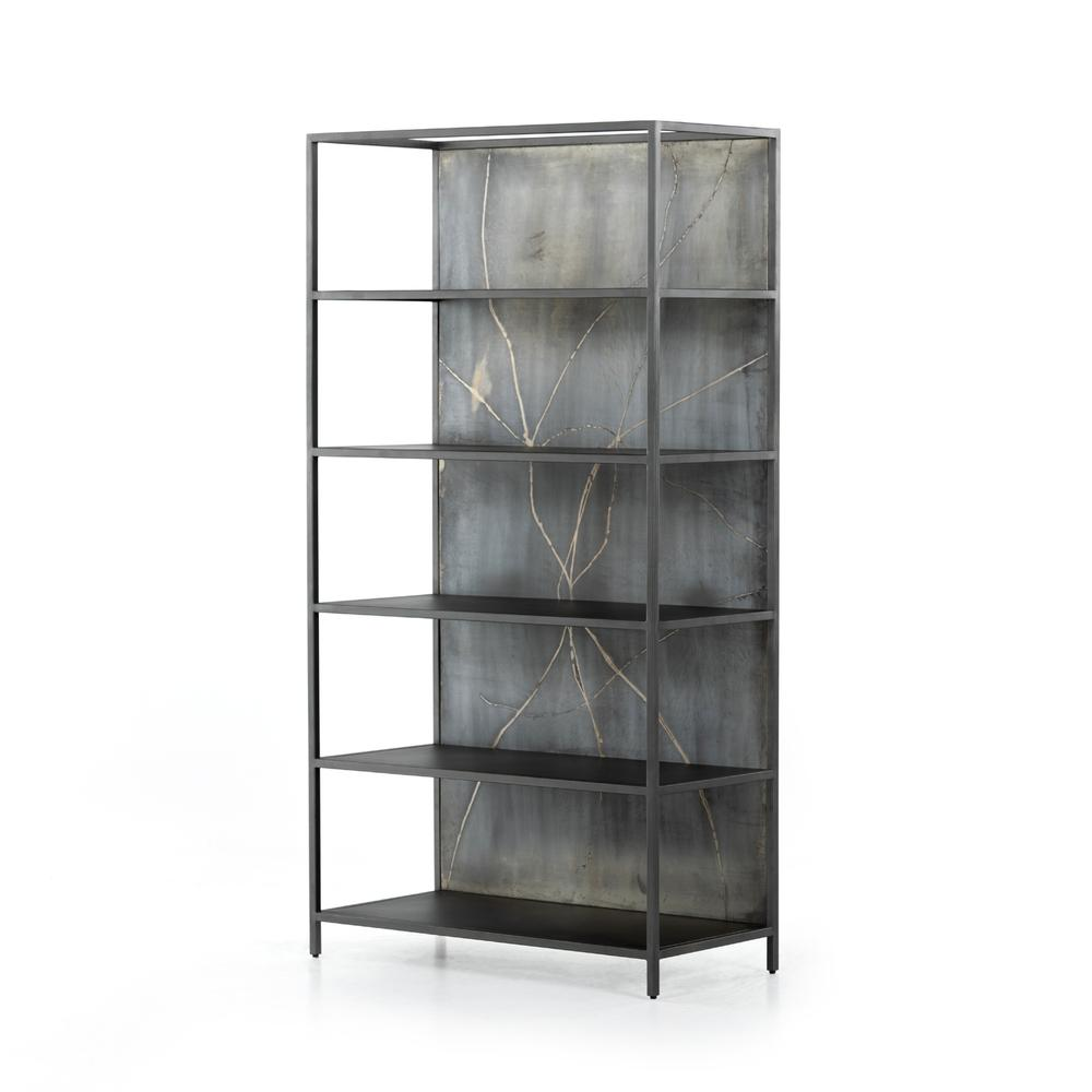 See Details - Orwell Bookcase-distressed Iron