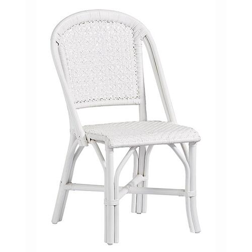 Accent Side Dining Chair- 2/CTN - White Finish