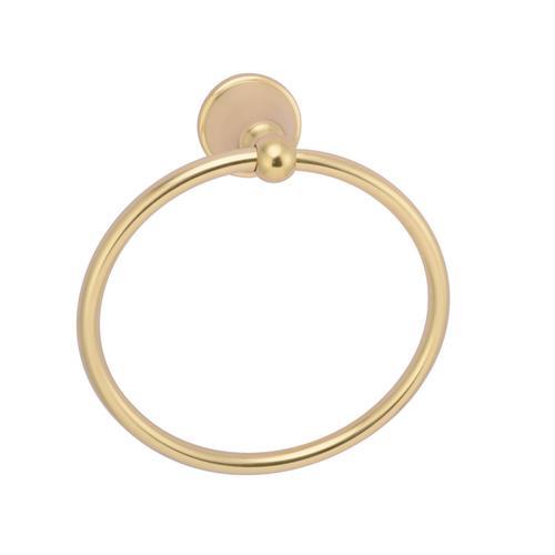 Gleason Towel Ring - Antique Brass