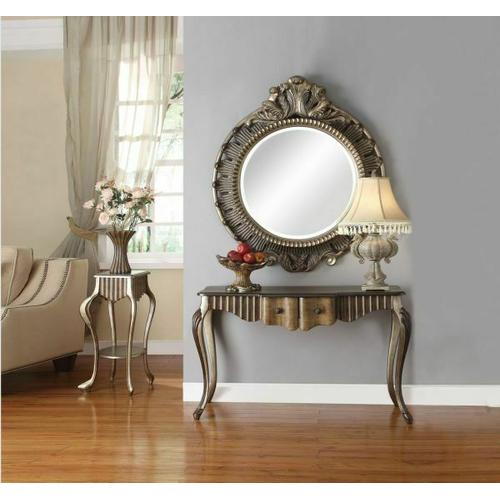 Acme Furniture Inc - ACME Bayley Accent Mirror (Wall) - 90125 - Bronze