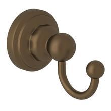 See Details - Edwardian Wall Mount Single Robe Hook - English Bronze