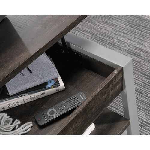 Contemporary Lift-Top Coffee Table with Shelf