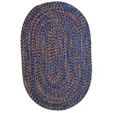 Team Spirit Blue Orange Braided Rugs