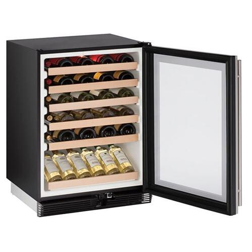 "1024wc 24"" Wine Refrigerator With Stainless Frame Finish (115 V/60 Hz Volts /60 Hz Hz)"