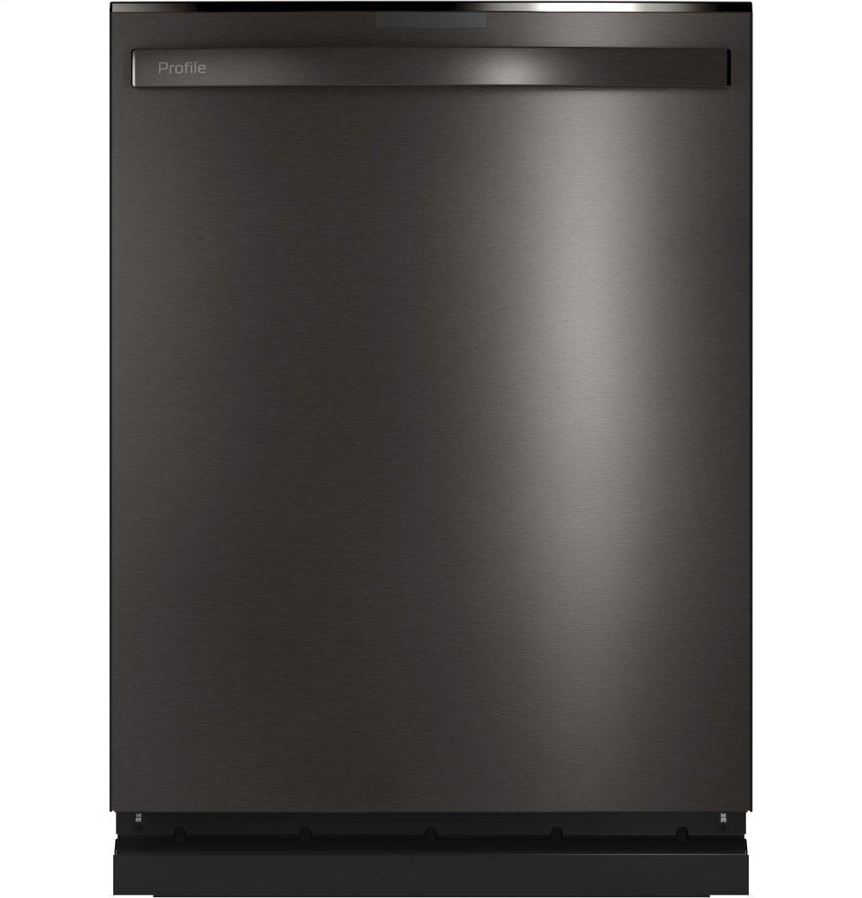 GE ProfileTop Control With Stainless Steel Interior Dishwasher With Sanitize Cycle & Twin Turbo Dry Boost