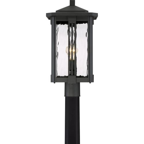 Quoizel - Everglade Outdoor Lantern in Earth Black