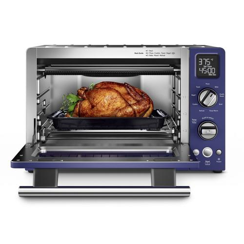 "KitchenAid - 12"" Convection Digital Countertop Oven Cobalt Blue"