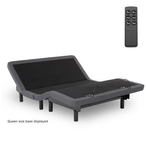 Leggett and Platt - Symmetry ZERO Clearance Adjustable Bed Base with Head and Foot Articulation, Twin XL