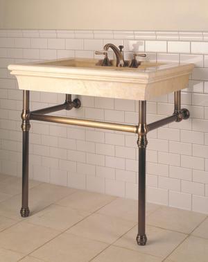 Bordeaux Vanity Jerusalem Gold Product Image