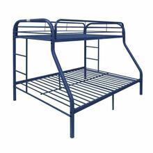ACME Tritan Twin/Full Bunk Bed - 02053BU - Blue