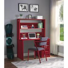 RED COMPUTER DESK