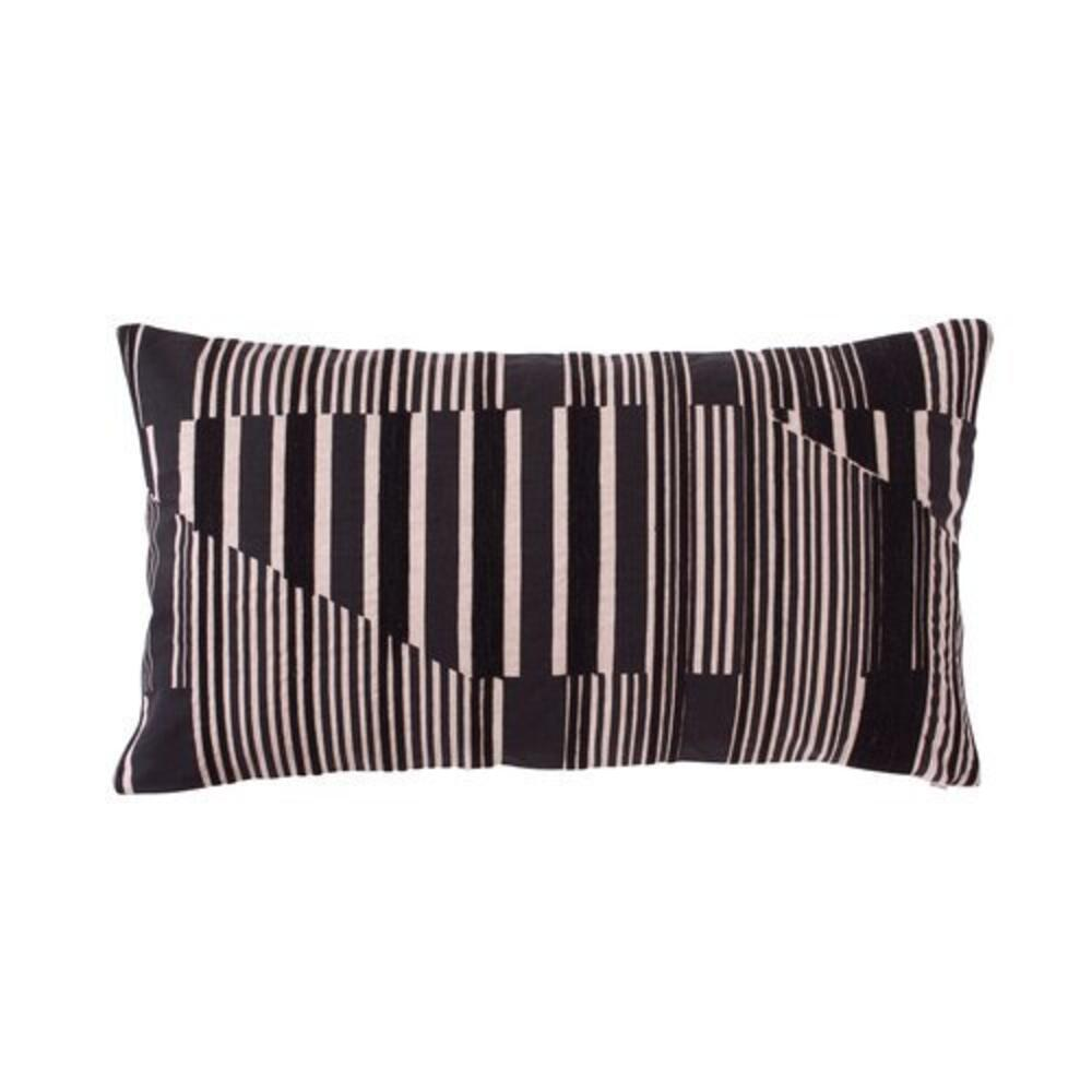 Vector Pillow Cover Black