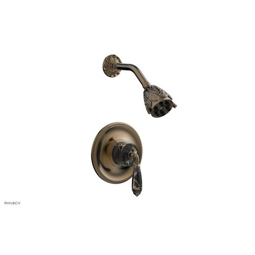 Phylrich - VALENCIA Pressure Balance Shower Set PB3338C - Antique Brass