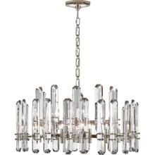 AERIN Bonnington 18 Light 32 inch Polished Nickel Chandelier Ceiling Light, Large