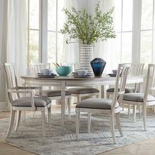 View Product - Bella Round 7PC Dining Room Set