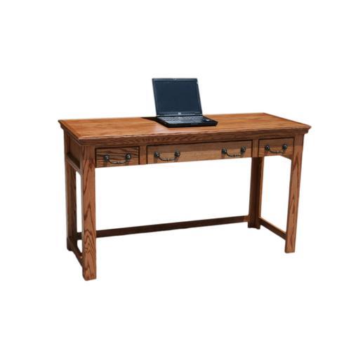 """O-T355 Traditional Oak 52"""" Laptop Desk"""