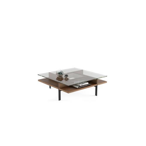 BDI Furniture - Terrace 1150 Square Coffee Table in Natural Walnut
