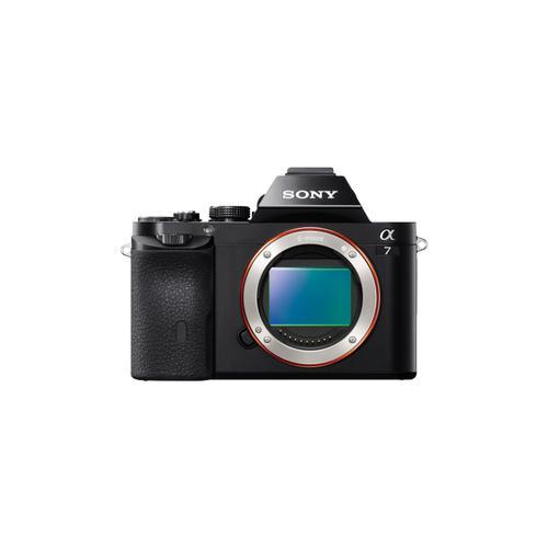 7 E-mount Camera with Full Frame Sensor Black