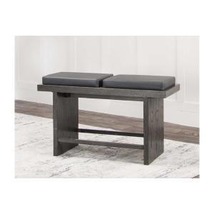 "Cramco Furniture - Cougar-smk/chrcl 24"" Bench 1pk"