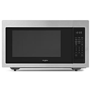 1.6 cu. ft. Countertop Microwave with 1,200-Watt Cooking Power - FINGERPRINT RESISTANT STAINLESS STEEL