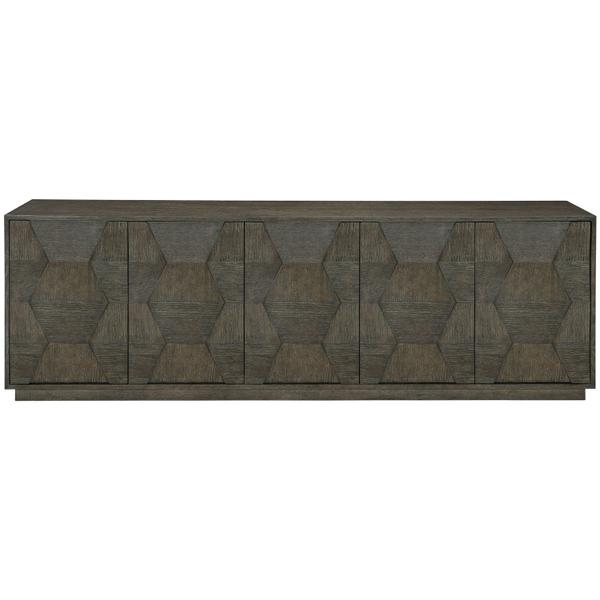 See Details - Linea Entertainment Console in Cerused Charcoal (384)