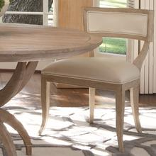View Product - Klismos Chair-Beige Leather