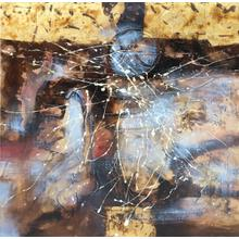 """Product Image - Modrest 39"""" x 39"""" Abstract Oil Painting"""