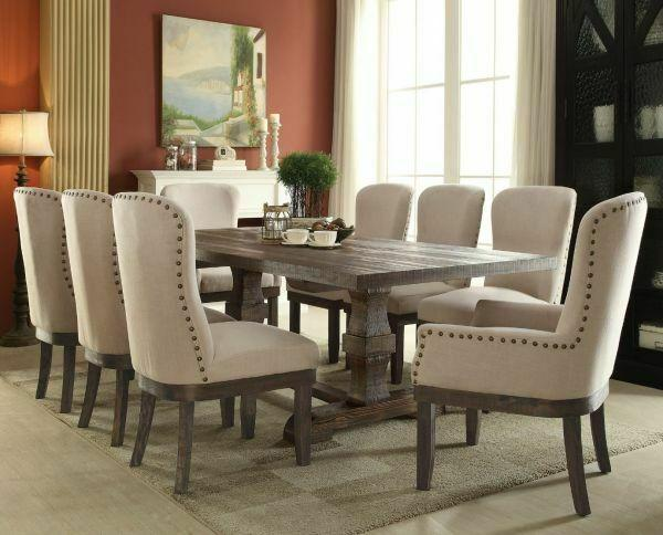 ACME Landon Dining Table - 60737 - Salvage Brown