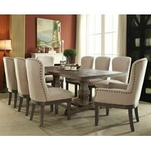 ACME Landon Dining Table - 60737 - Salvage Brown