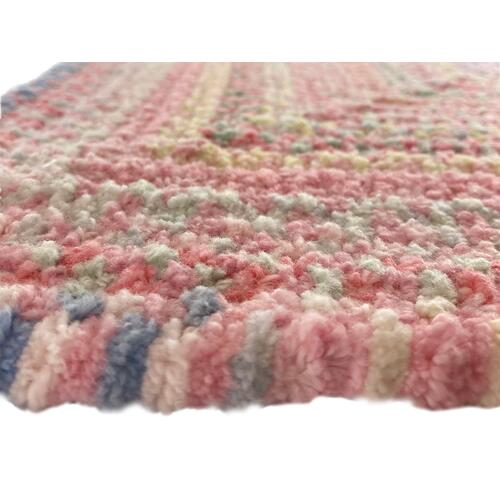 Cutting Garden Tea Rose Braided Rugs (Custom)