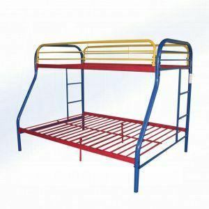 ACME Tritan Twin/Full Bunk Bed - 02053RNB - Rainbow