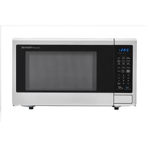 Sharp1.8 cu. ft. 1100W Sharp Stainless Steel Countertop Microwave Oven