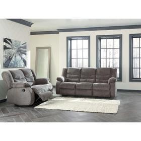 Tulen Reclining Sofa & Loveseat Gray