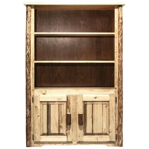 Montana Woodworks - Glacier Country Collection Bookcase with Storage