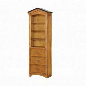 ACME Tree House Bookcase Cabinet - 10163 - Rustic Oak