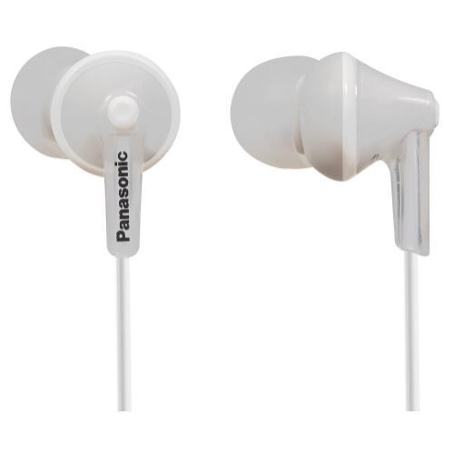 ErgoFit In-Ear Earbud Headphones - White - RP-HJE125-W