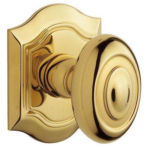 Baldwin - Non-Lacquered Brass 5077 Bethpage Knob