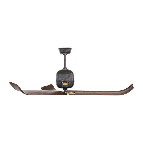 "60"" Volta - Antique Iron with Hand-Rubbed Antique Brass"